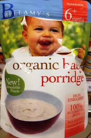 Organic Rice Porridg