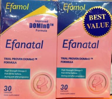 Efamol Efanatal Prenatal Vitamin Suplements