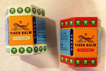 Tiger Balm ointment for mosquito bite