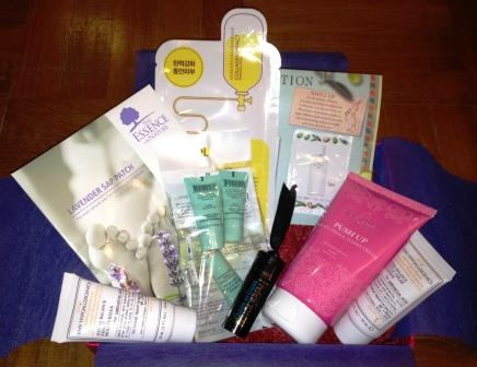 Vanity Trove set arrives monthly for a great mommy pick-meup