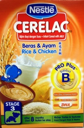 Nestle Cerelac Rice Powder with Milk